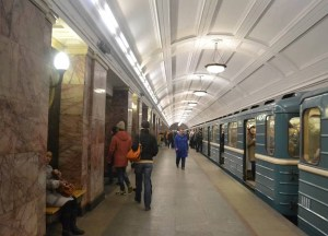 Metro Subway to Red Square, Moscow Airport to City Centre