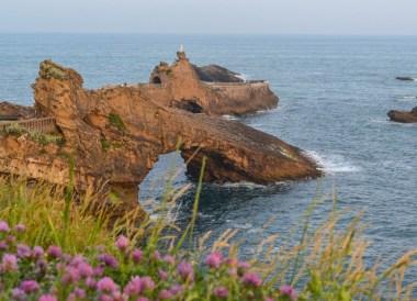 Biarritz Coastline, Road Trip in France Southern Borders June
