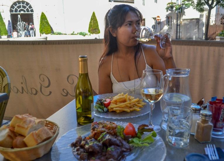 Burgundy Food, Road Trip in France Southern Borders June