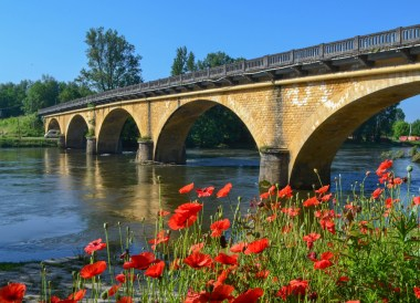 Dordogne River, Road Trip in France Southern Borders June