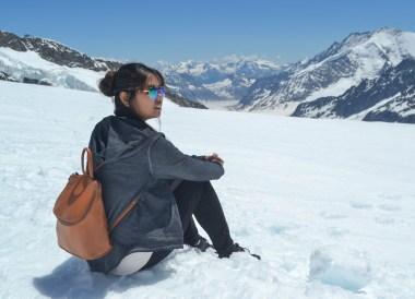 Fanfan Wilson, Jungfrau Top of Europe in Summer Switzerland 3 day pass