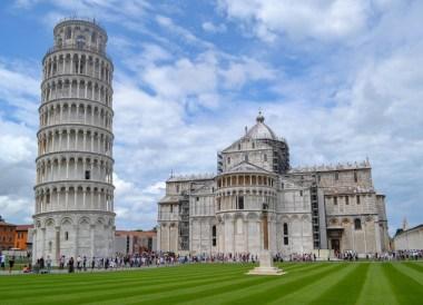 Pisa Tower, Road Trip in France Southern Borders June