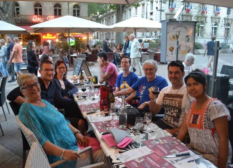 AVignon Restaurants, Road Trip in France Southern Borders June