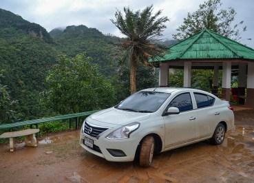 Nissan Almera, Driving to Doi Angkhang from Chiang Mai