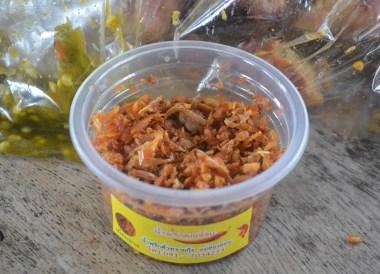 Nam prik nam yoy, Best Northern Thai Sausage in Chiang Mai Mae Hia Market