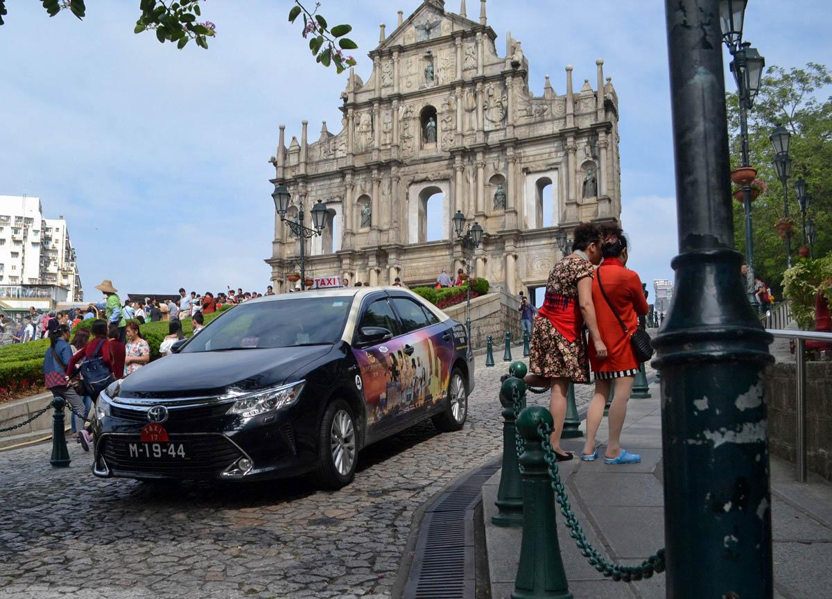 Macau Taxis, Top 10 Tourist Attractions in Macau