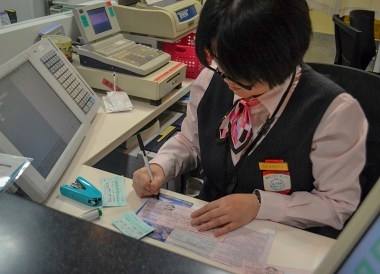 Ticketing Booths, Essentials for Japan Rail Travel, JR Pass. Pocket Wifi. Hyperdia
