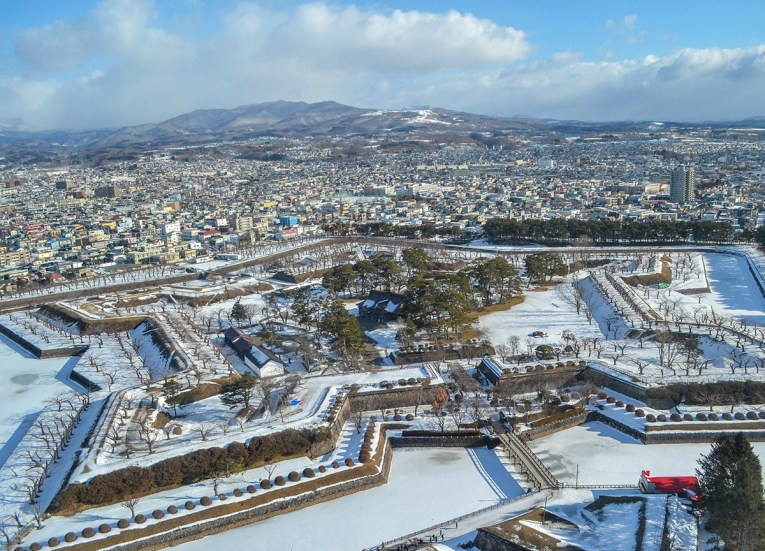 Star Fort Hakodate, 24 Hours at the Sapporo Snow Festival by Rail (JR Pass)