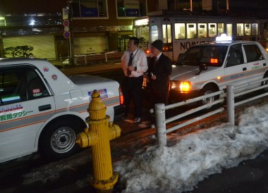 Taxis in Hakodate, tourist attractions in hakodate hokkaido japan