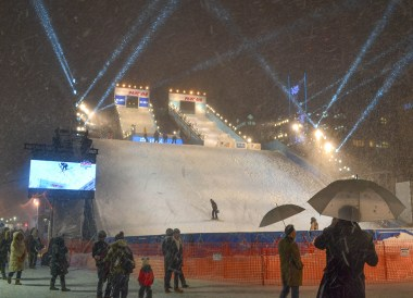 Snow Boarding, 24 Hours at the Sapporo Snow Festival by Rail (JR Pass)