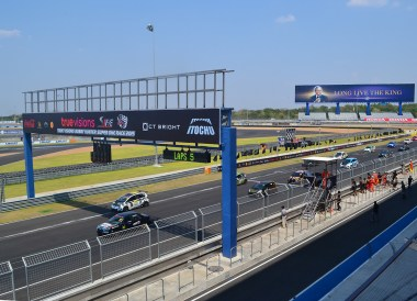 Chang International Race Track. Buriram Castle,