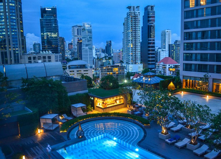 Swimming Pool, Bangkok Marriott Marquis Queen's Park Hotel Em District