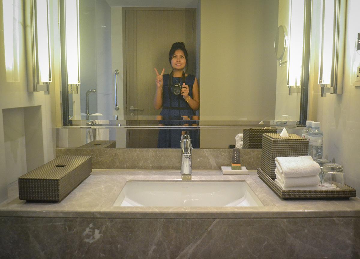 Fanfan Wilson, Bangkok Marriott Marquis Queen's Park Hotel Em District