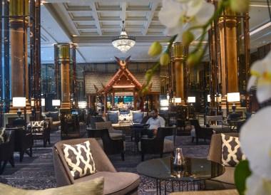 Hotel Lobby, Review Bangkok Marriott Marquis Queen's Park Em District