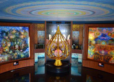 Inside Wat Ban Rai, Top Attractions in Korat Thailand Isaan