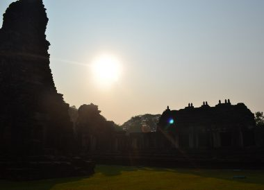 Morning at Phimai, Top Attractions in Korat, Nakhon Ratchasima Isaan, Thailand