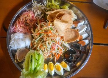 Som Tam Tat, Thai Isaan Food, Eating in Northeastern Thailand