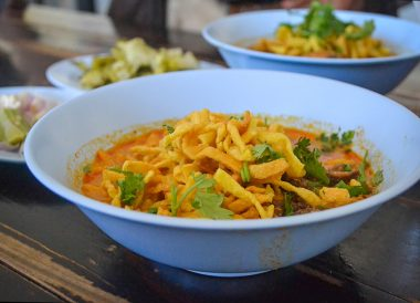 Khao Soi Mae Sai, Asian, Chinese Food on Nimman Road Chiang Mai Thailand