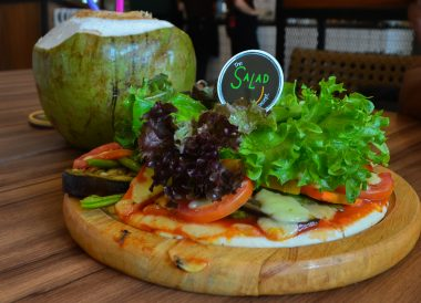 Pizza at Salad Concept, Best Restaurants in Nimman Chiang Mai Nimmanhemin Road