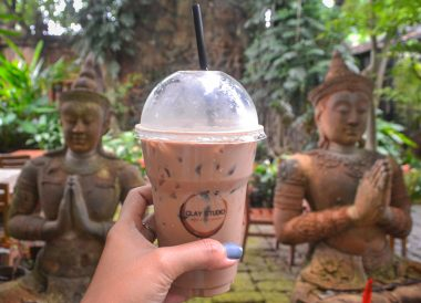 Clay Studio Garden ,Best Cafes Coffee Shops in Chiang Mai Thailand