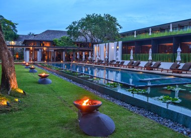 Evening Time at Anantara Vacation Club Chiang Mai Riverside