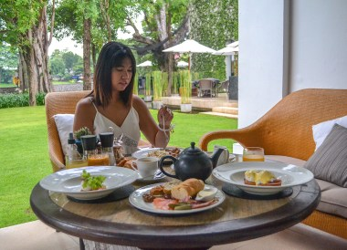 Breakfast at Anantara Vacation Club Chiang Mai Riverside