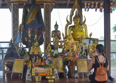 Hilltop Temple, Road Trips in Northern Thailand Chiang Mai