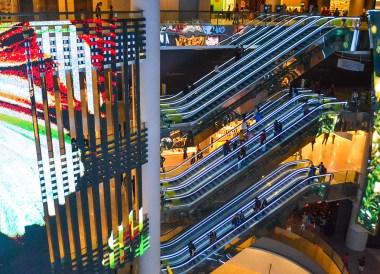 Sky Avenue Interiors at Resorts World Genting
