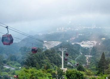 Awana Skyway Cable Car at Resorts World Genting