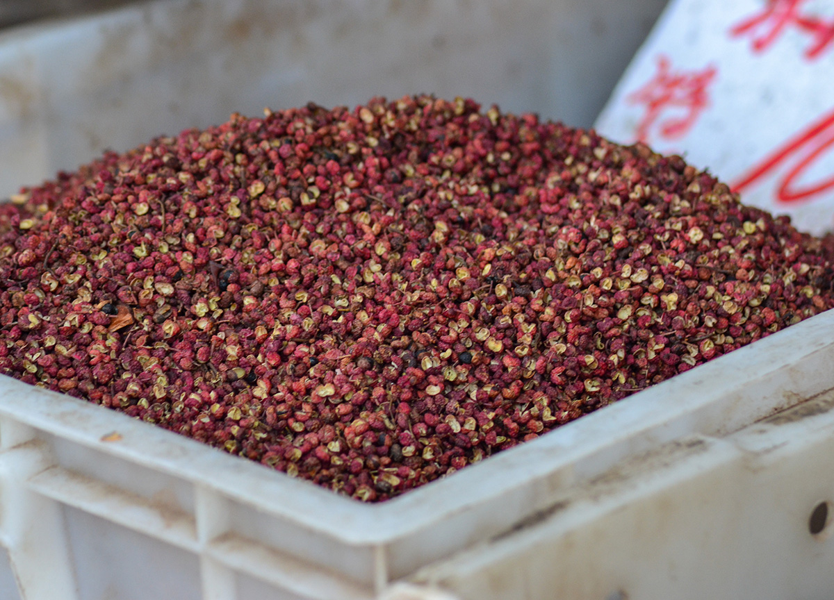 Sichuan Peppercorns, Sichuan Hot Pot Cygnet Chongqing China Chillies Pepper
