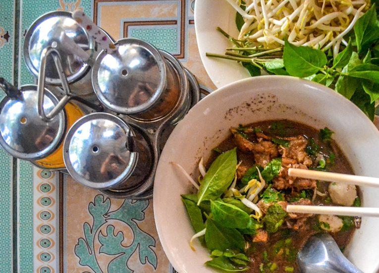 Condiment Flavours, Thai Noodle Soups in Thailand