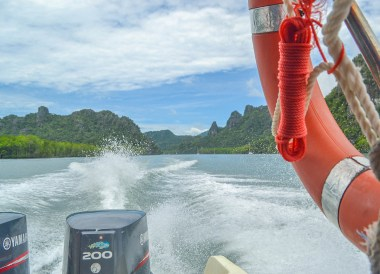 Speed Boat Tour, Top Attractions in Langkawi Island Malaysia