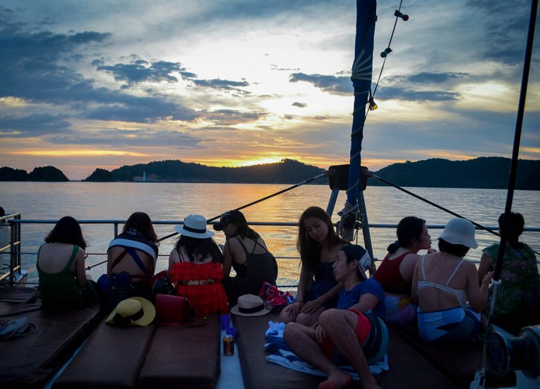 Sunset Cruise, Top Attractions in Langkawi Island Malaysia