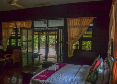 Superior Bedroom, Ulu Ulu Resort, Temburong National Park Brunei Borneo