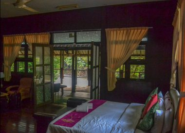 Superior Bedroom, Ulu Ulu Resort, Temburong National Park Brunei Borneo