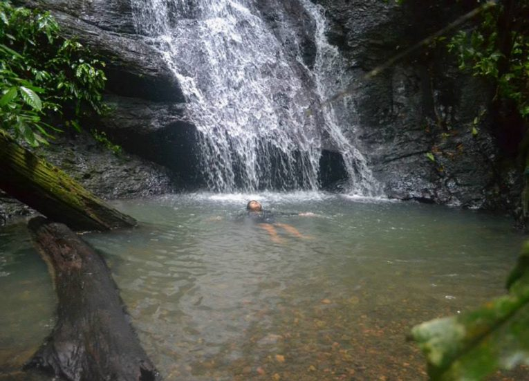 Waterfall Tour, Ulu Ulu Resort, Temburong National Park Brunei Borneo