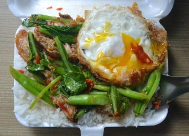 Kana Moo Grob Crispy Pork Belly and Chinese Broccoli (1)