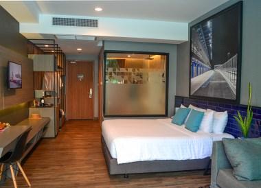 Guestroom Suite, X2 Vibe Buriram Hotel Isaan Northeastern Thailand