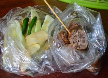 Isaan Sausages in Thailand Beyond the Bangkok Street Food Stalls (1)