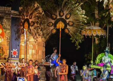Night Show, Phanomrung Festival Historical Park, Buriram Thailand