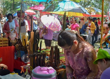 Ancient Markets, Phanomrung Festival Historical Park, Buriram Thailand