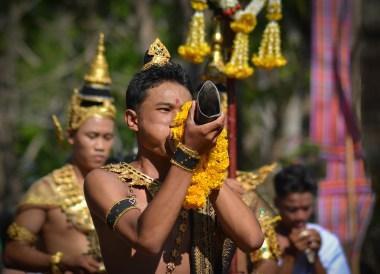 Procession Parade, Phanomrung Festival Historical Park, Buriram Thailand