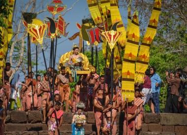 Parade Procession, Phanomrung Festival Historical Park, Buriram Thailand