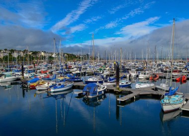 Boats in Berth, Top 10 Tourist Attractions in Bangor Northern Ireland