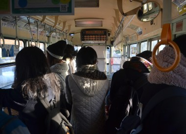 On Board Trams, tourist attractions in hakodate hokkaido japan