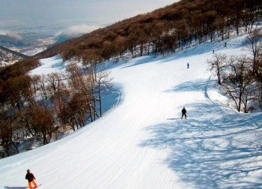 Tsakhkadzor Winter in the South Caucasus