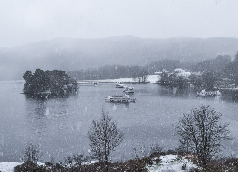 Best Views of Loch Lomond, Winter Road Trip in the Scottish Highlands Snow Scotland