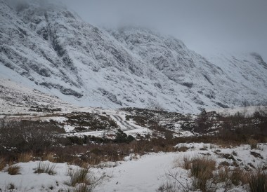 Glen Coe Mountains, Road Trip Winter in Scottish Highlands (2)