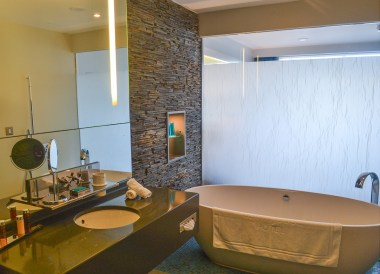 Guestroom Bathroom, Cliff House Hotel Ardmore Waterford Ireland