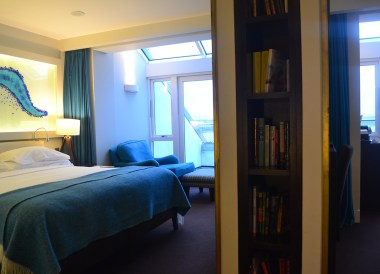 Guestroom Suite, Best Sea Views Ireland The Cliff House Hotel Waterford (3)
